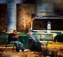 Bus Stop by Nadya Johnson