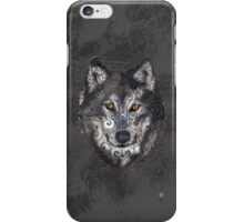 Swirly Wolf iPhone Case/Skin