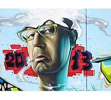 Chris Evans - Thinking 2 Much Photographic Print