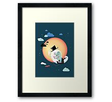 Monsieur Salut Framed Print