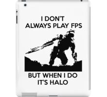Halo Meme iPad Case/Skin