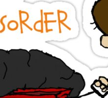 Social Disorder - Calvin & Hobbes stlye Sticker