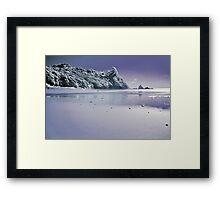 Te Karo infrared Framed Print