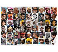Indian Men Poster