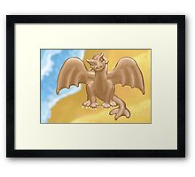 """Dumb Dragon""?! Framed Print"