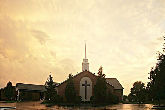 Faith Baptist Church by RockyWalley