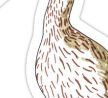 Eurasian Curlew (Numenius arquata) Sticker