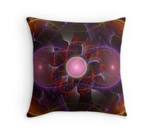 Electric Julia Throw Pillow