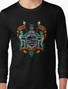 Zombie Hunters Coat of Arms Long Sleeve T-Shirt