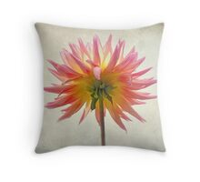 Facing the light Throw Pillow
