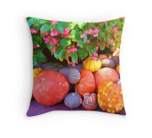 """Pumpkin Patch"" Throw Pillow"