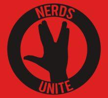 NERDS UNITE - VULCAN SALUTE One Piece - Short Sleeve
