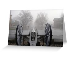 Cannon at Ross Greeting Card
