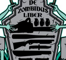 Zombie Hunters Coat of Arms (STICKER) Sticker