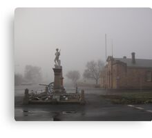 Cenotaph at Ross Canvas Print