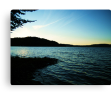 Lac La Blanche, Quebec Canvas Print