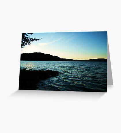 Lac La Blanche, Quebec Greeting Card