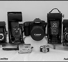 CAMERAS OLD AND NEW by Pauline Tims