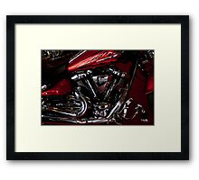 Side Shot Harley Framed Print