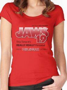 Jaws 19 - Back to the Future Women's Fitted Scoop T-Shirt