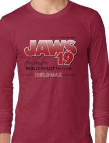 Jaws 19 - Back to the Future Long Sleeve T-Shirt
