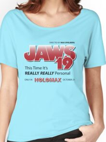 Jaws 19 - Back to the Future Women's Relaxed Fit T-Shirt