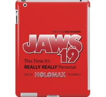 Jaws 19 - Back to the Future iPad Case/Skin
