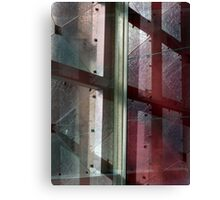 Red Glass Canvas Print