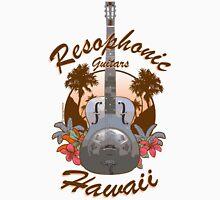 Resophonic Guitar - Hawaii (brown)  Unisex T-Shirt
