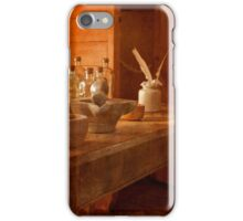Apothecary Bottles HMS Victory iPhone Case/Skin