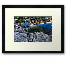 Looking Down To See Up Framed Print