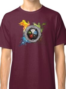 Magic the Gathering: Elemental  Battle Classic T-Shirt