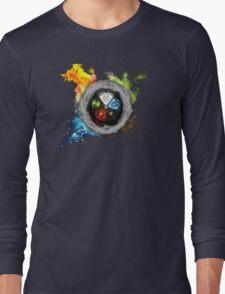 Magic the Gathering: Elemental  Battle Long Sleeve T-Shirt