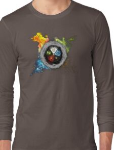 Elemental  Battle Long Sleeve T-Shirt