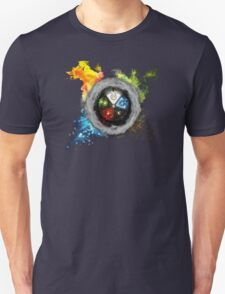 Magic the Gathering: Elemental  Battle Unisex T-Shirt