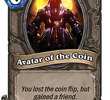 Hearthstone Card - Avatar of the Coin by MaxEmbregts
