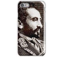 Emperor Haile Selassie-Ethiopia iPhone Case/Skin