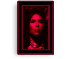 Lilith Within the Candles Flame Canvas Print