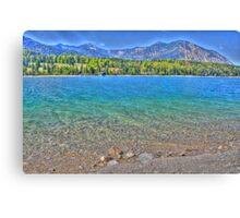 HDR - Lake Walchensee - Germany Canvas Print