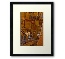 Joiners Tools HDR Framed Print