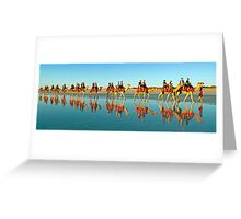 BEACH TRANSPORT Greeting Card