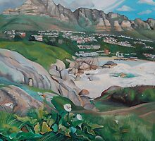 Twelve Apostles (West side of Table Mountain) by Tatyana Binovskaya