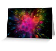 The big bang Greeting Card