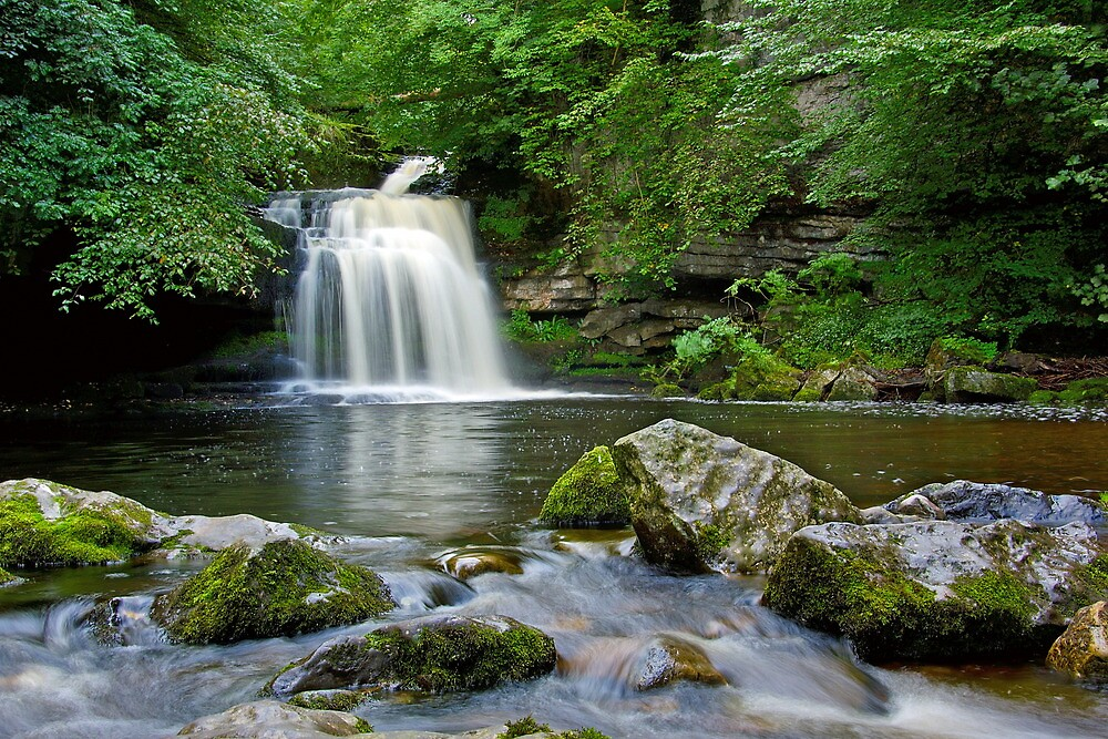 West Burton Falls by Andrew Leighton