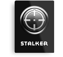 City of Villains - Stalker Metal Print