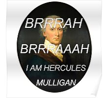 Hercules Mulligan Hamilton Musical Poster