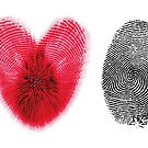 Fingerprint heart by Nasko .