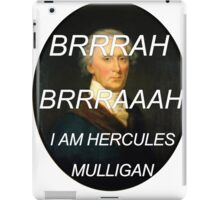 Hercules Mulligan Hamilton Musical iPad Case/Skin