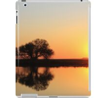 It's all about the light... Sunrise... Along the rural road, Free State, South Africa iPad Case/Skin