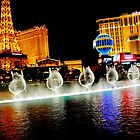 Las Vegas - Bellagio Fountains by Toby Wilson